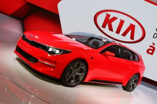 History Kia Media Site - Kia car show